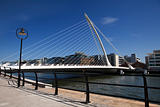 Beckett Bridge In Dublin