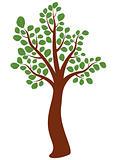 vector elm tree