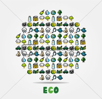 cartoon eco card
