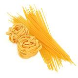 Tagliatelle and Spaghetti Pasta