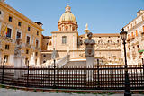 Piazza Pretoria in Palermo, Sicily