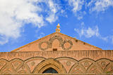 frieze of ancient medieval Duomo di Monreale
