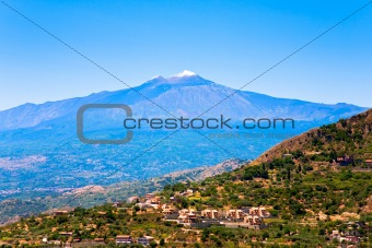 Etna in summer day, Sicily