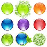 Glossy Globes Set