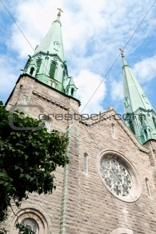 Sainte Cecile Church in Montreal