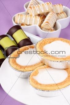 Assortment of Swedish and Danish sweets