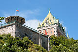Chateau Frontenac from Old Quebec City