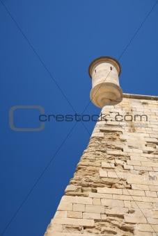 ancient sentry box at Lleida city