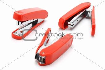 Three staplers