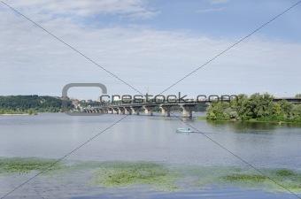 Kiyiv, Ukraine, Paton bridge