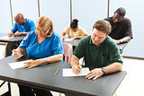 Adult Education - Taking Test