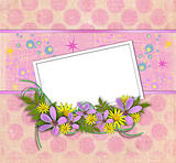blank sheet of paper, template