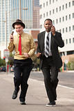 Hurrying Businessmen