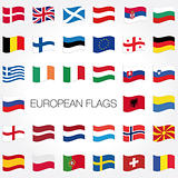 vector european country flags