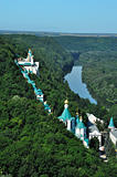 Monastery on the river