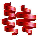 ribbons blank design template