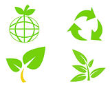 Environmental conservation symbols 3