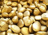 gold patten pebbles