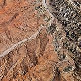 Grand Canyon aerial.