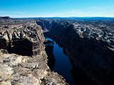 Utah Canyonlands aerial.