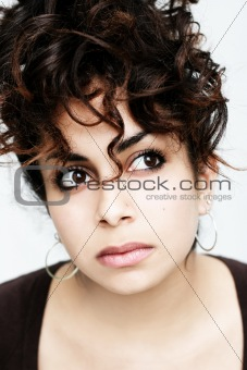 Beautiful middle eastern girl