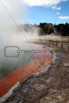 Champagne pool, Wai-O-Tapu Thermal Park