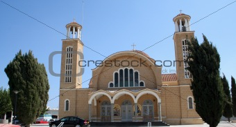 Ayia Napa Church Cyprus