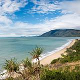 Queensland scenic coast.