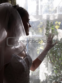Bride Looking