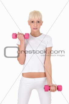 Fitness woman