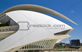 City of arts and science architecture