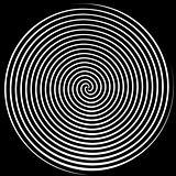 Black & White Spiral