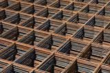 Reinforcing bar mesh
