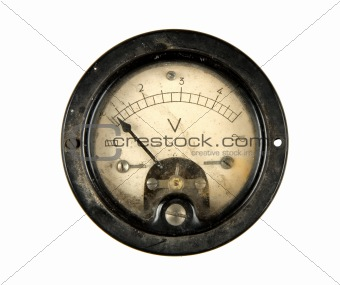 Old voltmeter