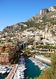 Beautiful scenery of Monte Carlo