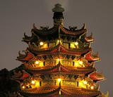 Chinese Pagoda by Night