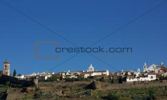 old village.