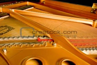 Grand Piano Interior