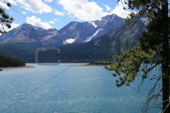 Alpine Lake in Canadian Rockies