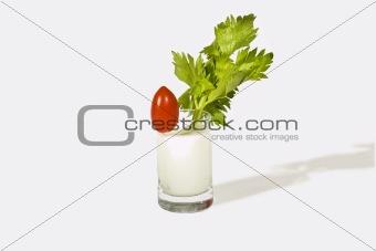 Tomato in Milk