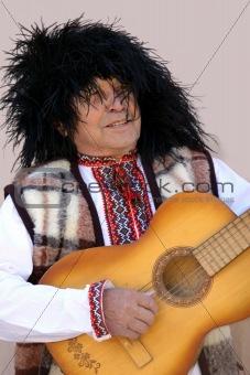 Old ukranian man