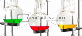 three chemistry experiment