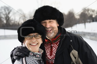 Portrait of couple.