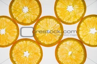 Citrus slices.