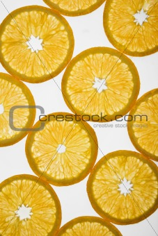 Citrus slices.
