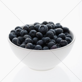 Bowl of Blueberries.