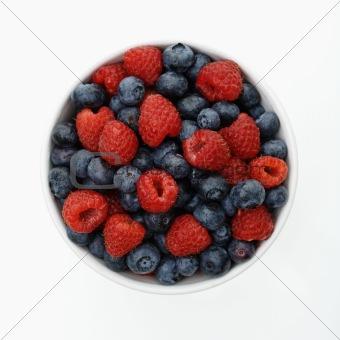 Bowl of berries.