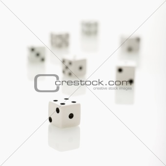 Group of dice.