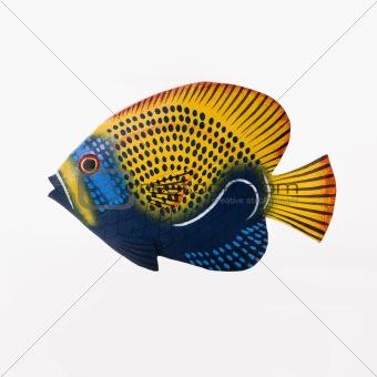 Fish sculpture.