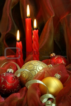 Christmas Candles & Baubles